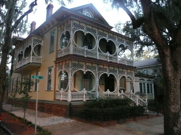 The asendorf quot gingerbread quot house in savannah georgia we told the