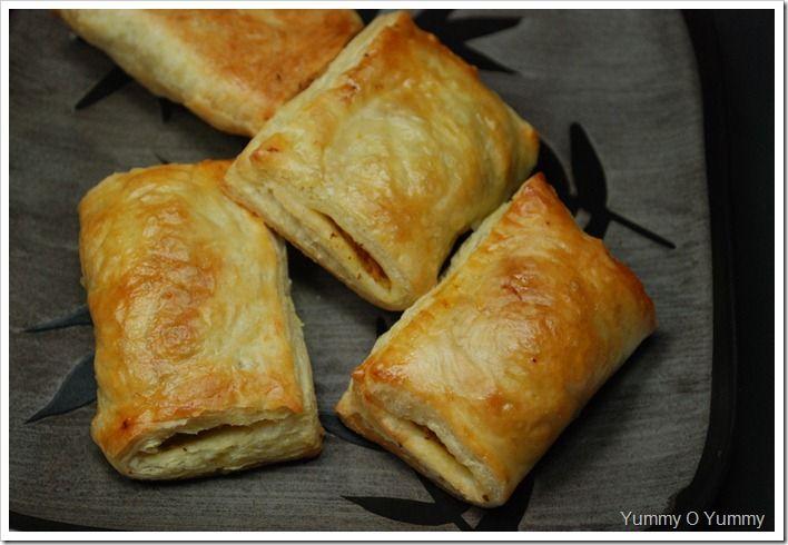 Chicken Puffs   Recipes [ Indian ]   Pinterest