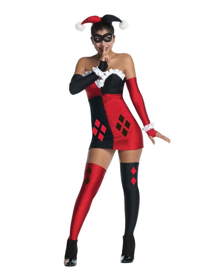 Batman harley quinn adult womens costume