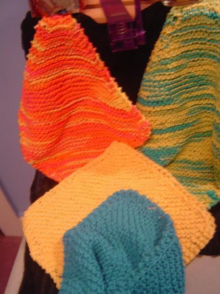 Easy Knit Dishcloths | Craft | Pinterest