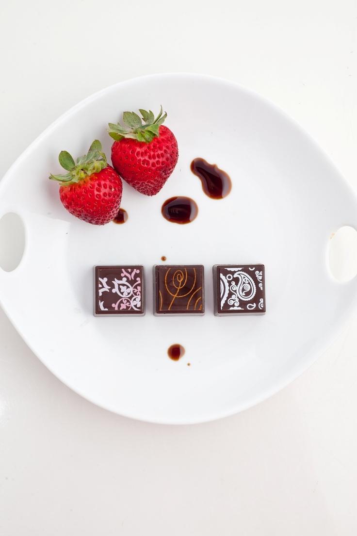 Balsamic Vinegar Truffles #Delysia | Chocolate Truffles | Pinterest