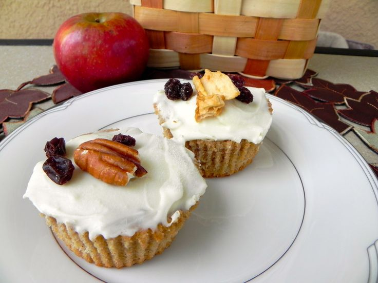 Spiced Apple Cupcakes | Like a fat kid loves cake | Pinterest