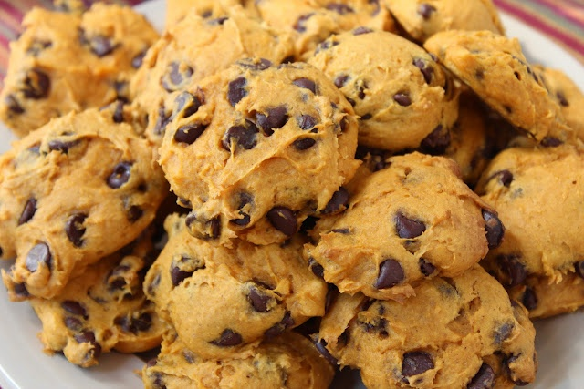 booturtle's show and tell: Easy Pumpkin Chocolate Chip Cookies