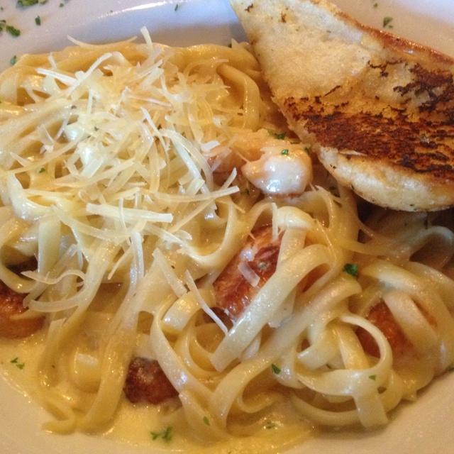 Fettucinni shrimp Alfredo | Recipes | Pinterest