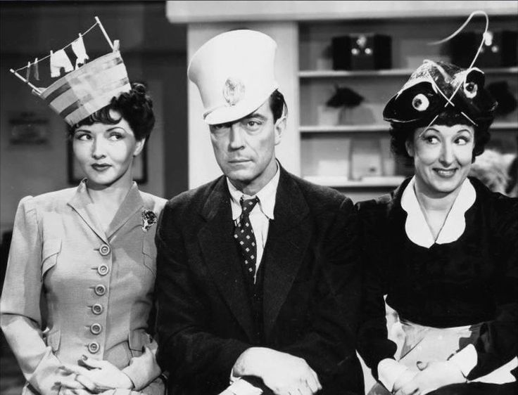 Dorothy Appleby, Buster Keaton and Elsie Ames in Taming of the Snood 1940