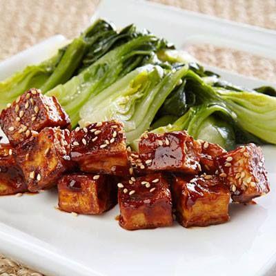 ... sweet soy glaze recipes dishmaps grilled bok choy with sweet soy glaze