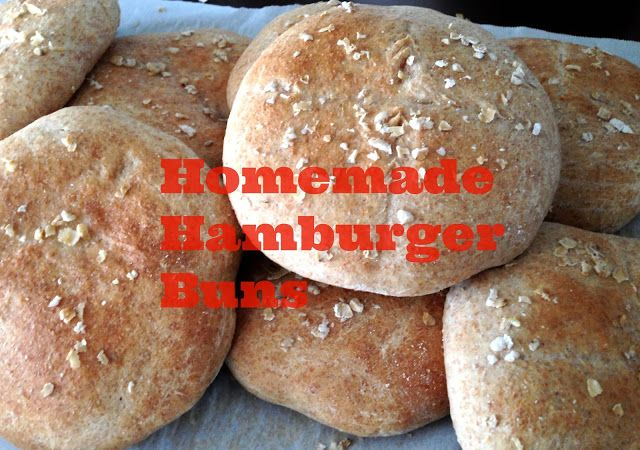 Homemade Hamburgers