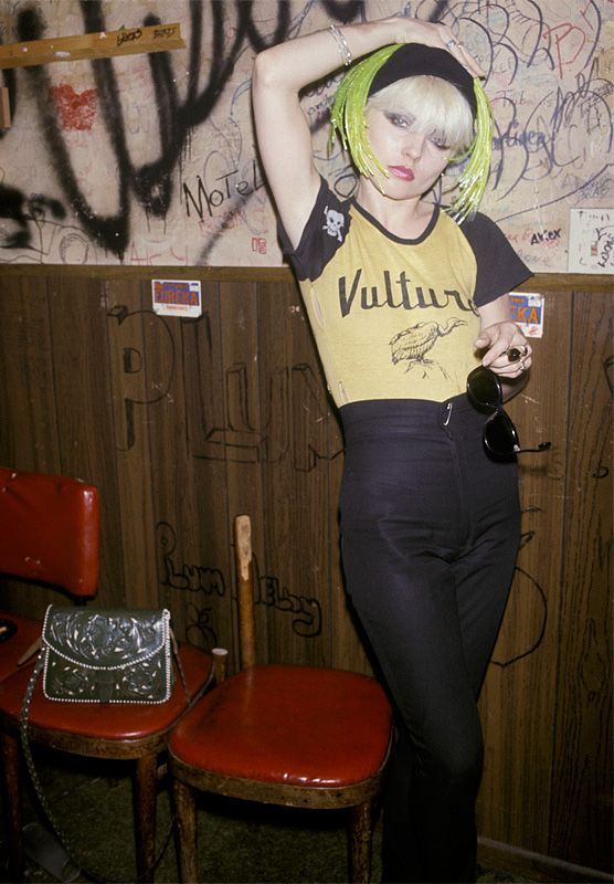 Debbie Harry at The Whisky A Go Go 1977 by Brad Elterman