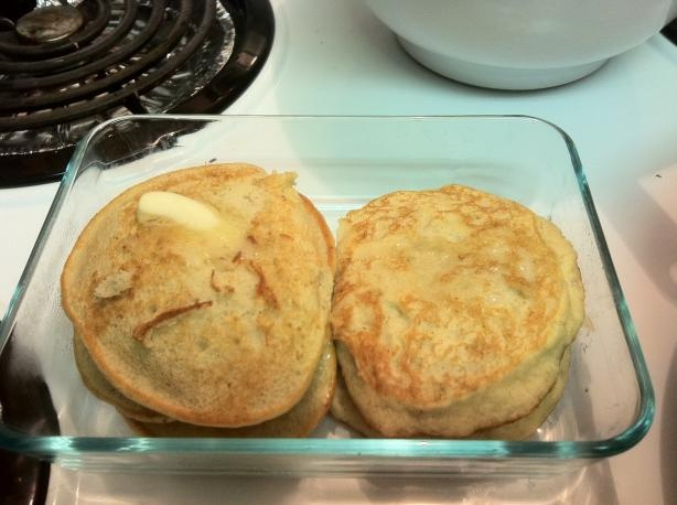 Easy Fluffy Gluten Free Banana Pancakes | Recipe