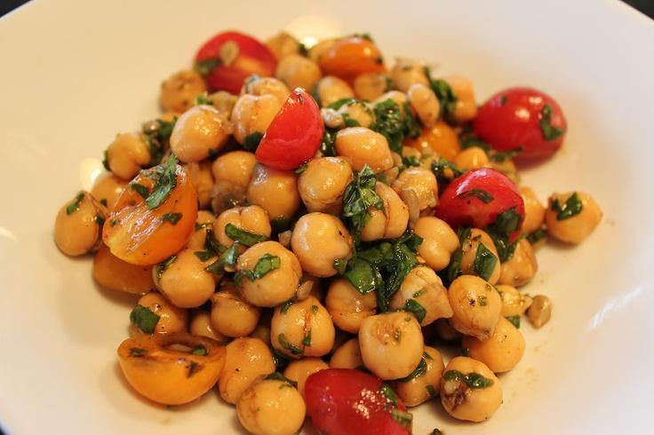 Mediterranean Chickpea Salad | Recipe Photos | Pinterest