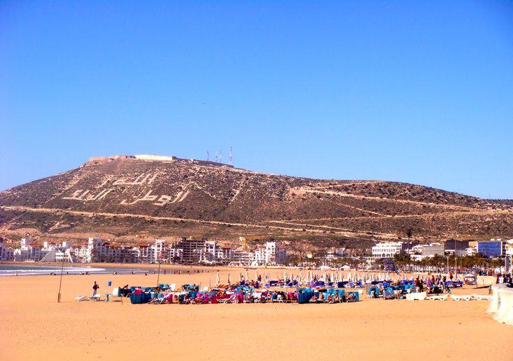 Agadir sandy beach   Morocco   Pinterest   Sandy beaches ...