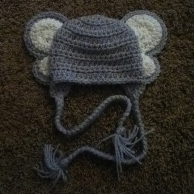 Crochet Pattern For Baby Elephant Hat : Crochet Baby elephant hat Crochet Ideas Pinterest