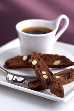 Biscotti and coffee | Chocolate-Pistachio Biscotti - That's Fit