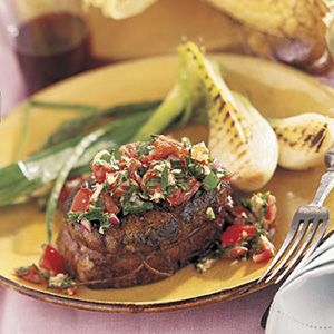 Filet Mignon with Horseradish Salsa | Recipe