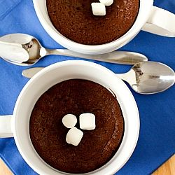 Baked Hot Chocolate | Sweet and Savory Delicaseies | Pinterest