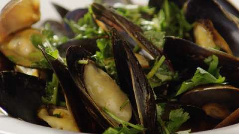 Thai Steamed Mussels Allrecipes.com | Life ingredients | Pinterest
