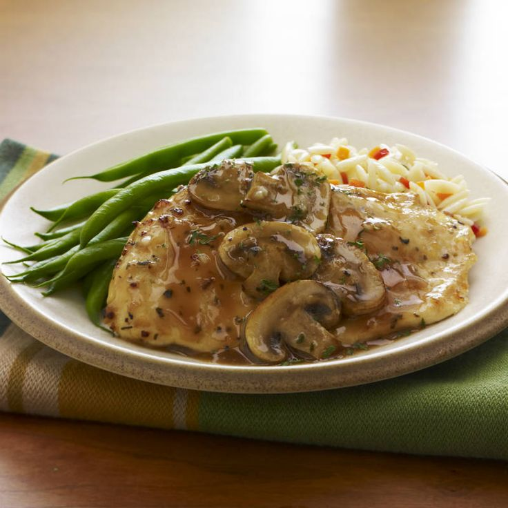 Chicken Marsala With Sage And Thyme Recipe — Dishmaps