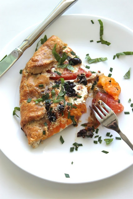 Heirloom Tomato Galette | veggies | Pinterest