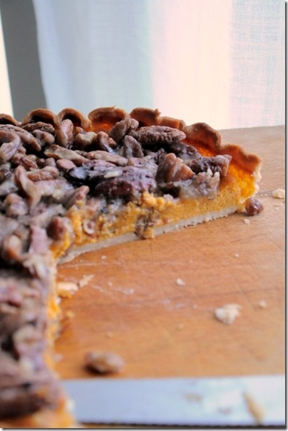 Sweet Potato Pie with Pecan Topping | Favorite Recipes | Pinterest