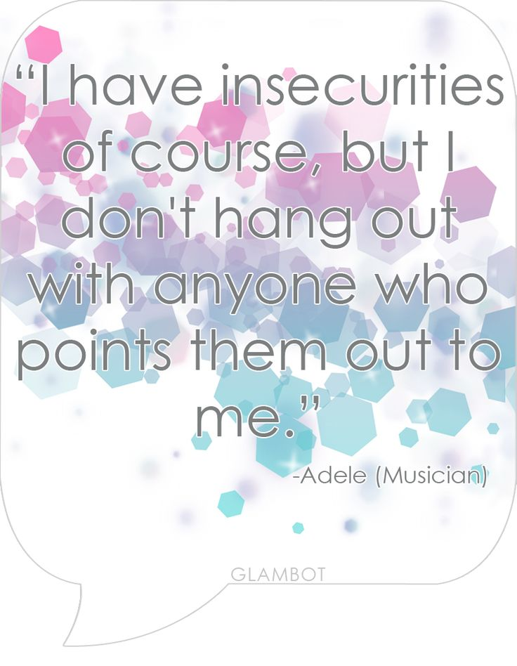 Feeling Insecure Quotes. QuotesGram