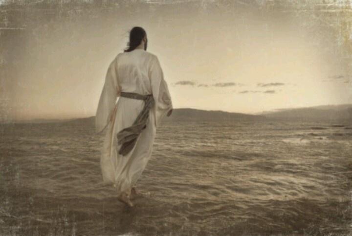Jesus Walking On Water Tattoo Jesus walking on water...
