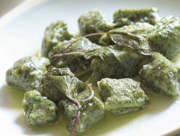 Spinach gnocchi: Followed the recipe and then pan fried them. They ...