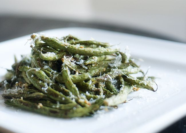 roasted_parmesan_green_beans_6 | Eating (and Drinking) | Pinterest