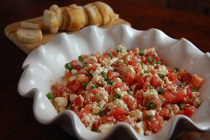 Super easy and amazing Feta dip!! YUM! | food | Pinterest
