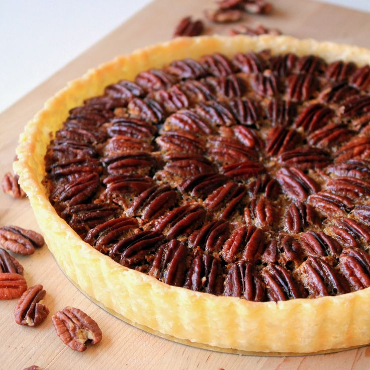 Maple bourbon pecan pie | Cookies Recipes, Decorations and Tips | Pin ...
