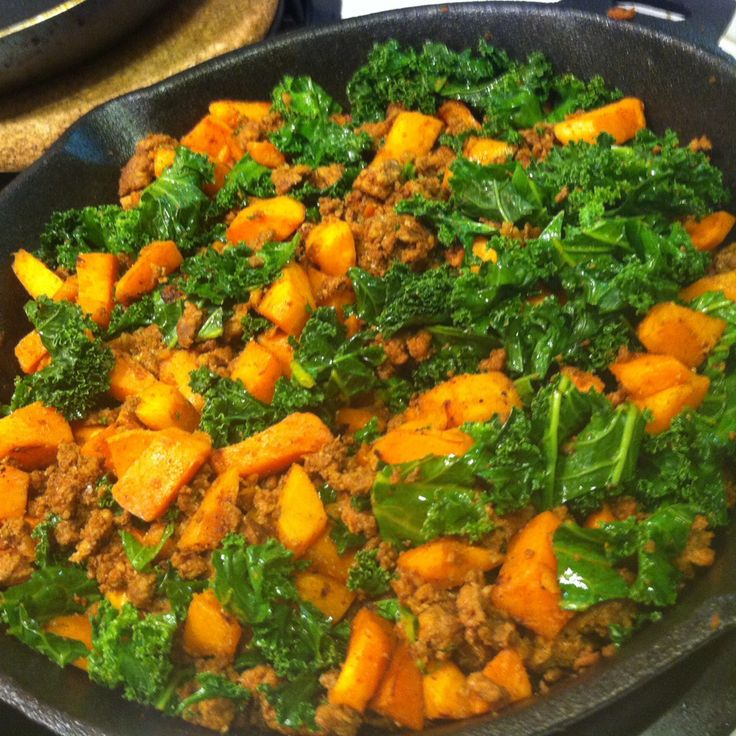 ... hash #paleo....you can sub with any meat, ground turkey or chicken