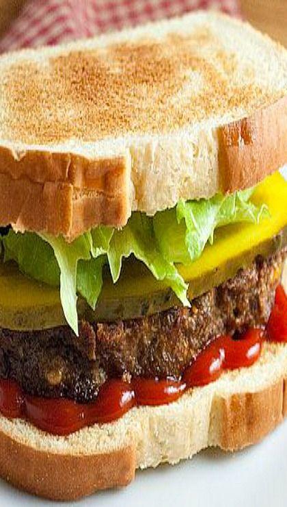 Meatloaf sandwich | Sandwiches | Pinterest