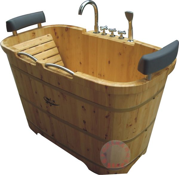 Double deep soaking tub baths pinterest for Soaking tub deep