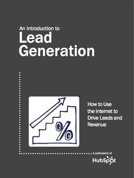 Lead generation makes the marketing world go round. Download the ebook: http://www.hubspot.com/free-ebook-an-introduction-to-lead-generation/