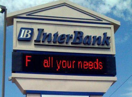 ✿ڿڰۣ(̆̃̃•Aussiegirl. an  honest bank...