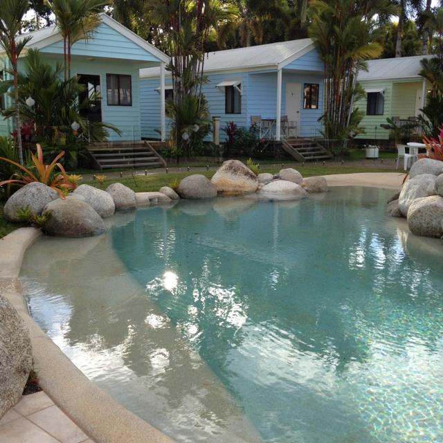Natural Looking Backyard Pool : Nice, natural looking pool design  outdoor spaces  Pinterest
