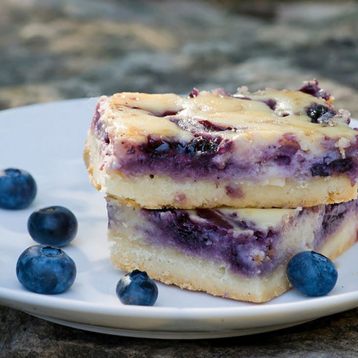 Blueberry Cheesecake Squares Recipe | Food!!! | Pinterest