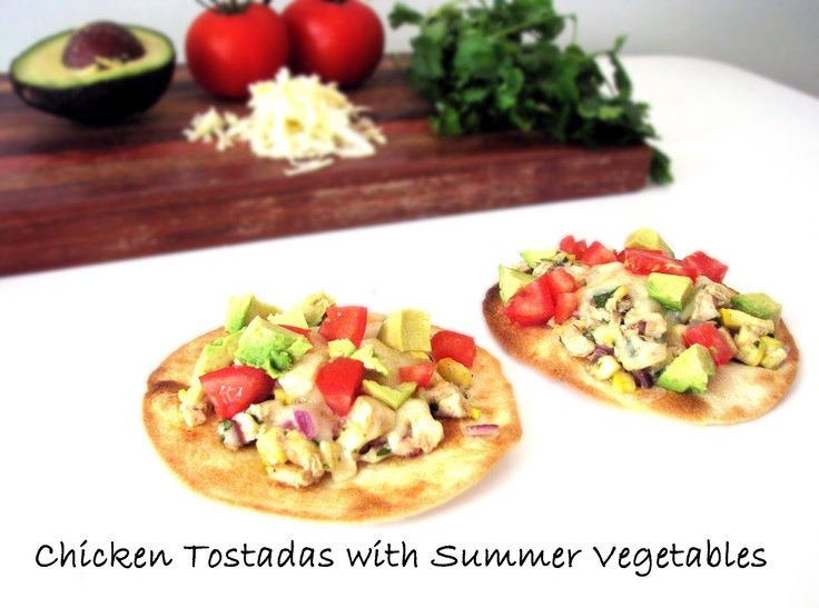 Chicken And Summer Vegetable Tostadas Recipes — Dishmaps