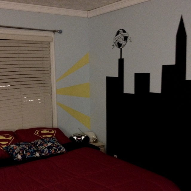 superman room home decor kid bedrooms pinterest