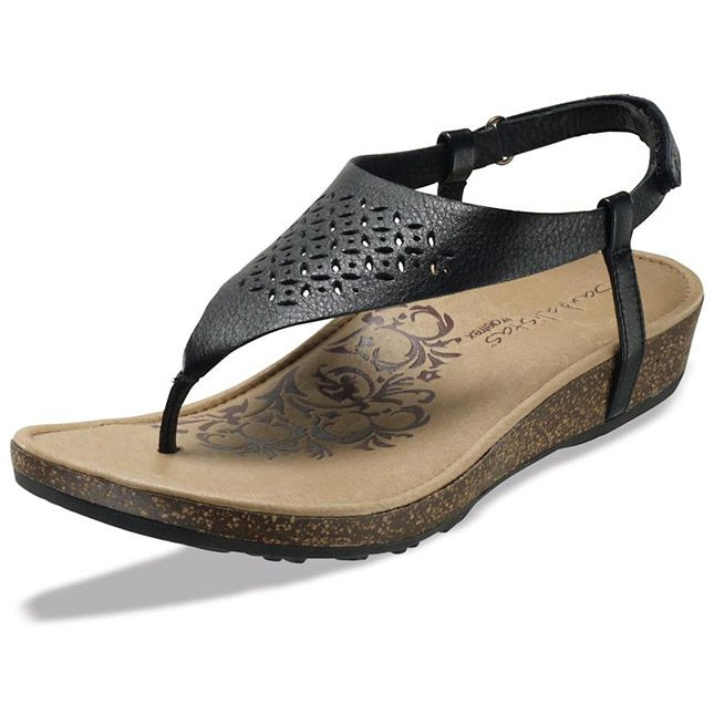 Aetrex Cindi in Black $99.95. Great arch support and comfort