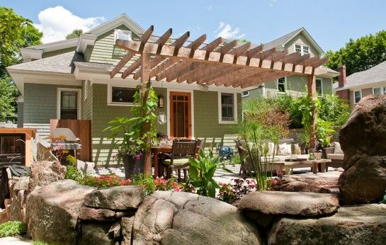 Bungalow backyards joy studio design gallery best design for Backyard bungalow plans