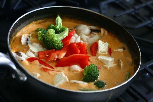 Panang Curry | recipris With tweaking, could be made plant strong