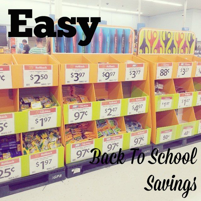 To school shopping with walmart savings catcher so easy partner