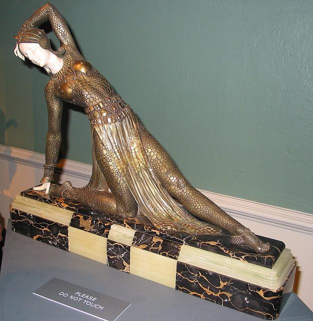 Art Deco Sculpture by colros,