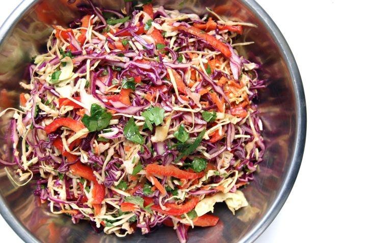 amazing cabbage salad w peanut dressing | Eat, Eat, Love | Pinterest