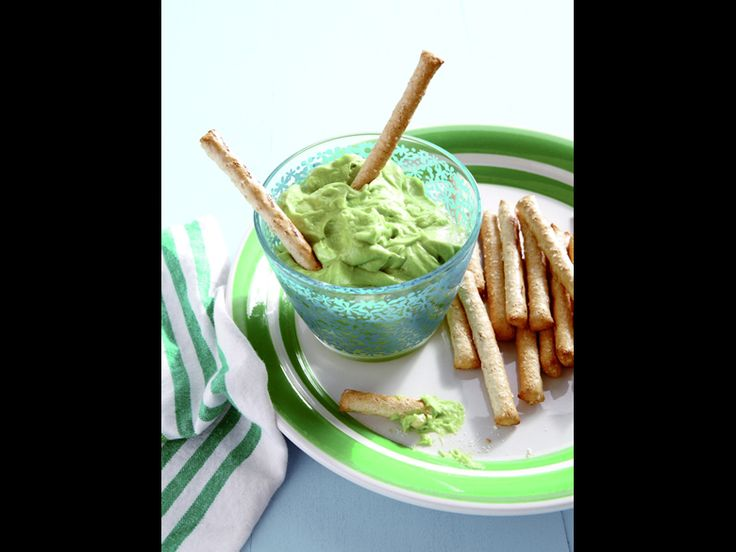 Avocado Honey Dip | Healthy Snack Recipes for Kids #weeliciouslunches