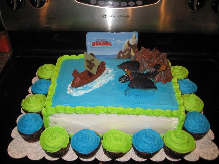 how to train dragon cake
