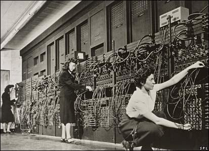The first modern computer -- ENIAC -- February 14, 1946
