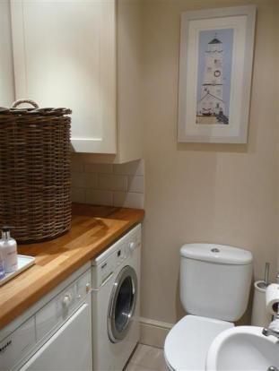 Utility room toilet house pinterest for Toilet room ideas