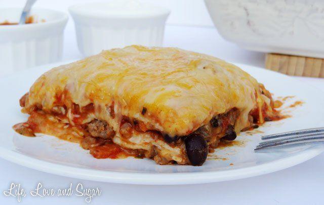 Taco Lasagna. Mmmmmmm, gotta try this!
