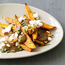 Sweet Potato Poutine, from Weight Watchers - our national dish in ...
